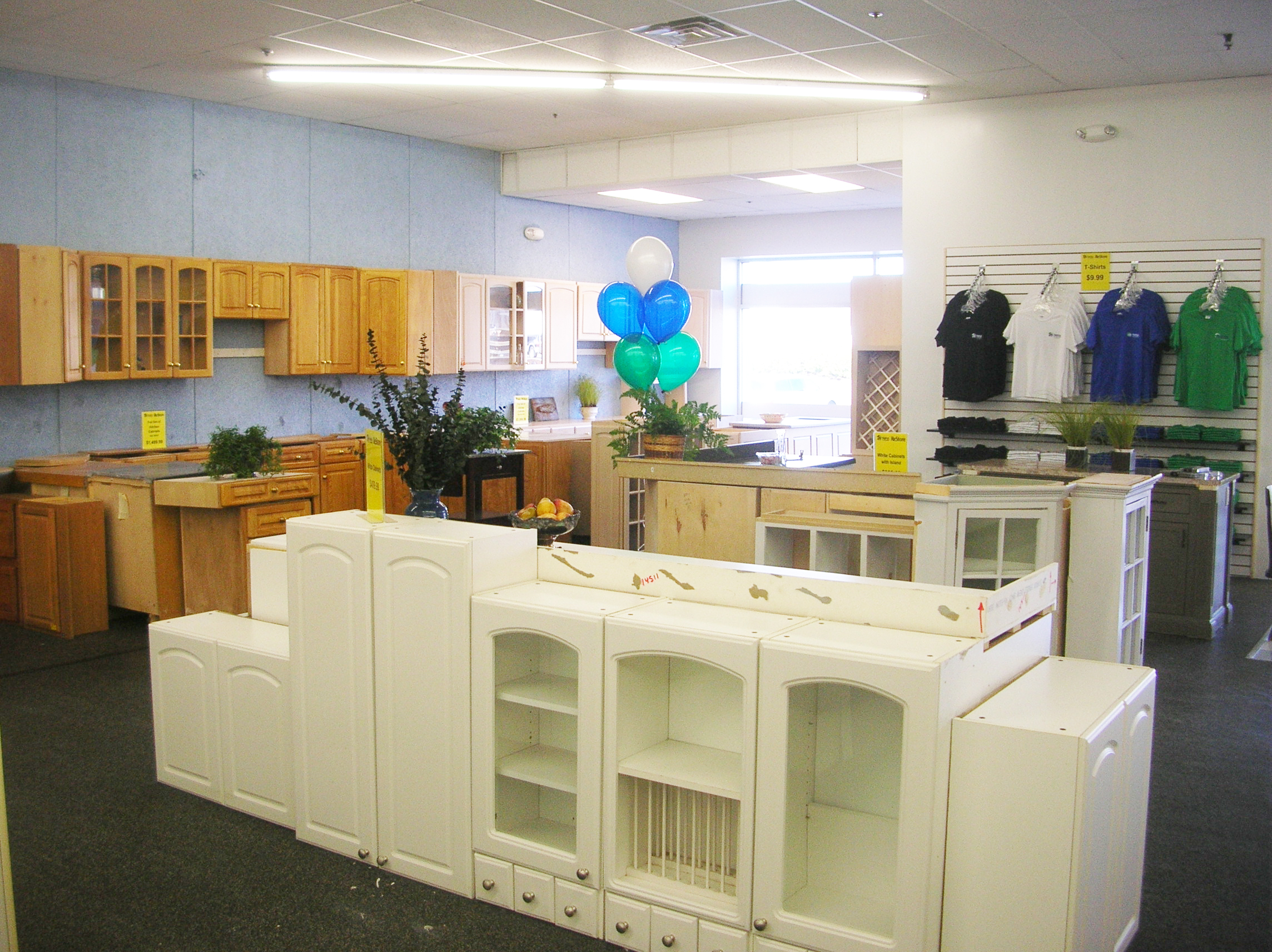 Restore donate for Restoring old kitchen cabinets
